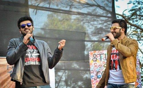 Punjabi Boys Ranveer Singh and Arjun Kapoor