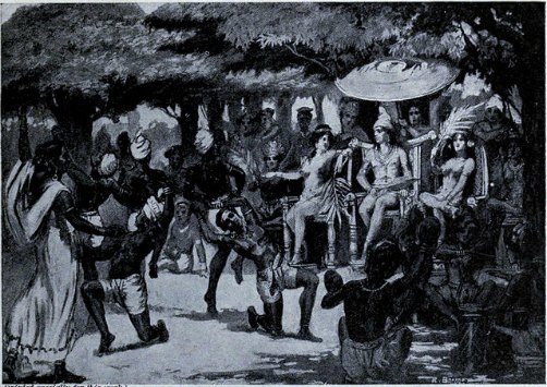 Helena and Chandragupta Maurya marriage