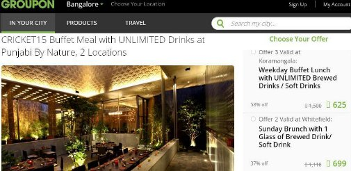 reasons why every indian should use groupon for great deals on