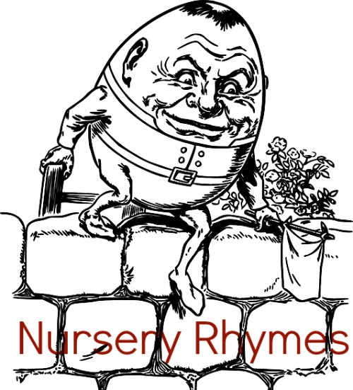 Humpty Dumpty Nursery Rhyme And Coloring Page Pictures to pin on ...