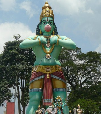 Lord Hanuman Vali (bali) fight