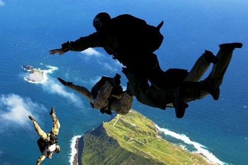 Skydiving in Bollywood