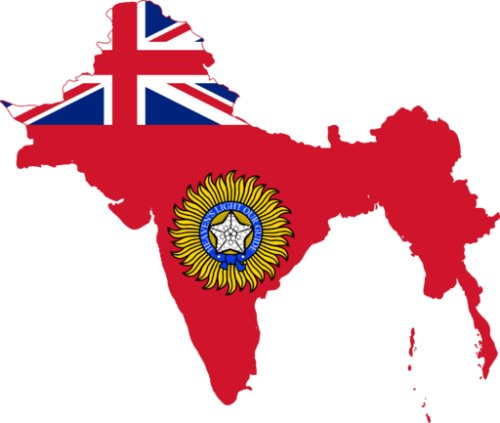British Raj in India - Flag