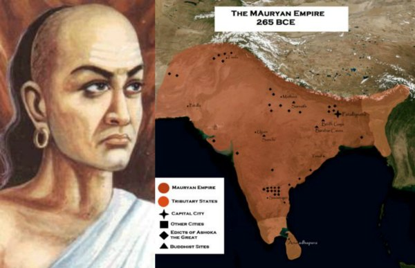 chanakya-ashoka-mauryan-empire