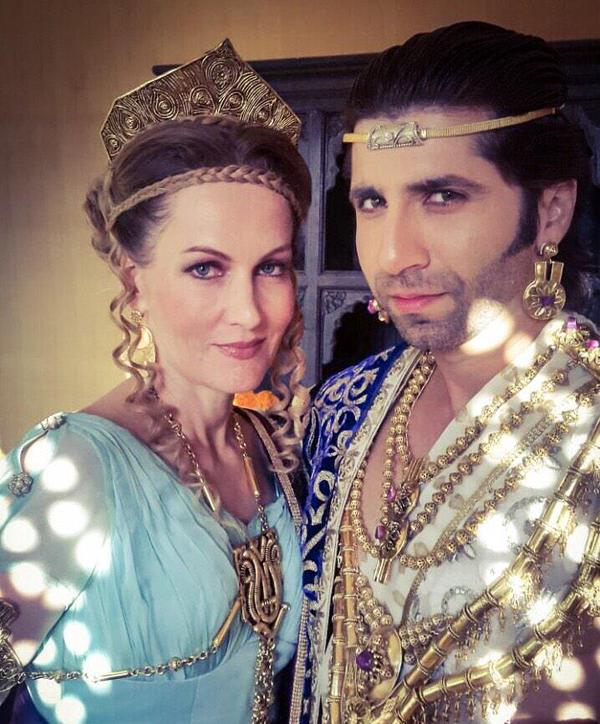 Justin and Helena of Ashoka Serial