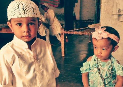 Cute Muslim Kids