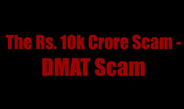 DMAT Scam Facts News, MP