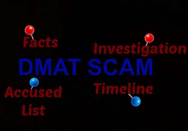 DMAT Scam News, Timeline, Facts