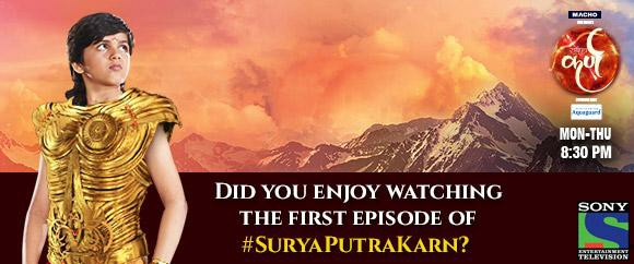 Suryaputra Karn - Karna & his mother