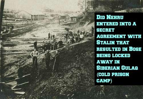 Bose in Siberian Gulag (Cold Prison)