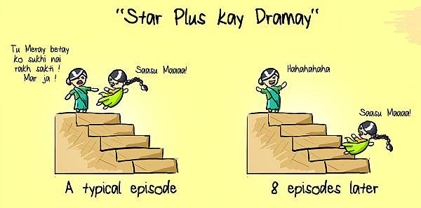 Star Plus Saas Bahu drama