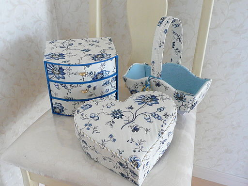 Fabric-covered_basket,_chest_of_drawers,_and_heart-shaped_box_-_20110216
