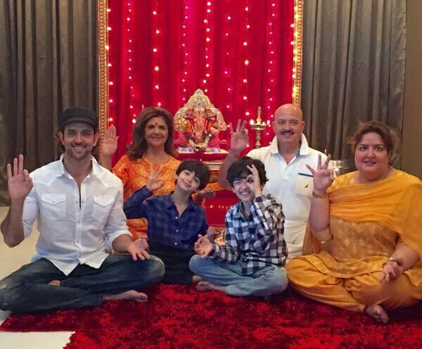 hrithik-roshan-kids-family-pic - National Views
