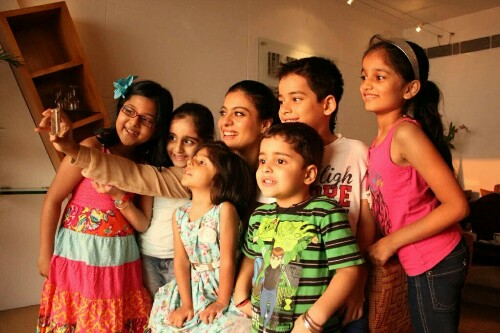 kajol-with-kids-hottest-bollywood-mom