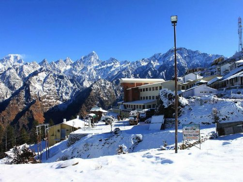 Auli-hill-station-view