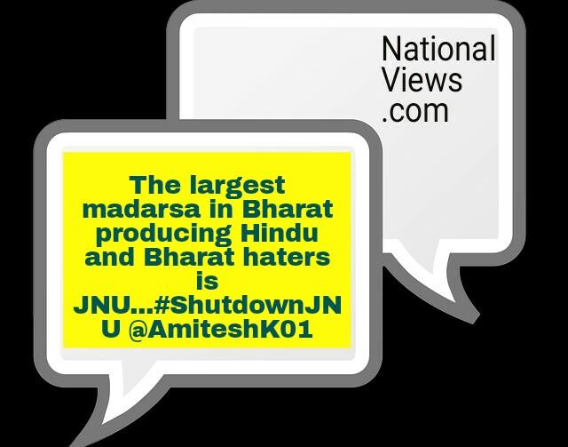 #shutdownjnu-tweets-afzal-guru-protest