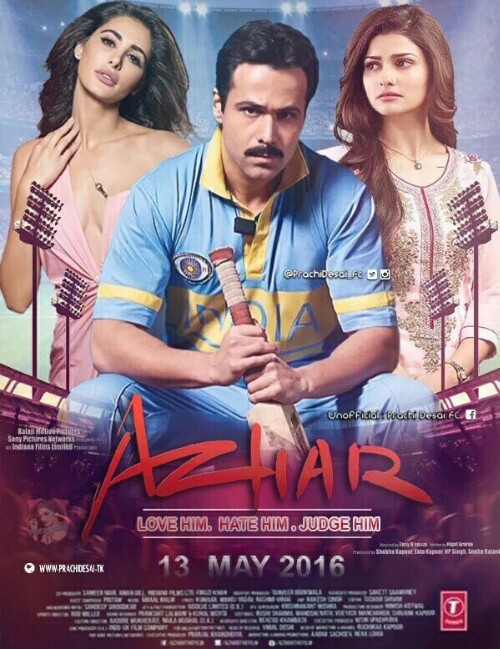 Azhar (2016) Full Movie Free Download HD 720p