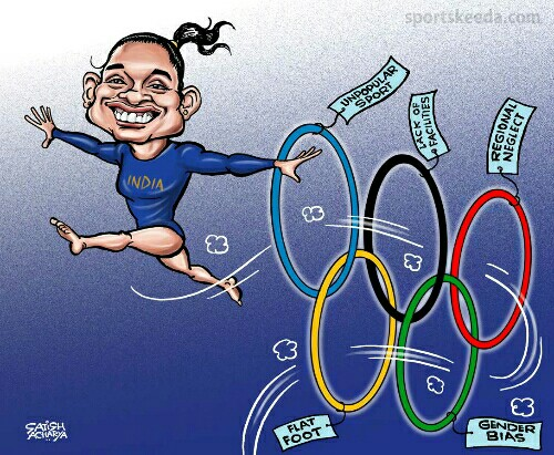dipa-karmakar-achievements-indian-gymnast