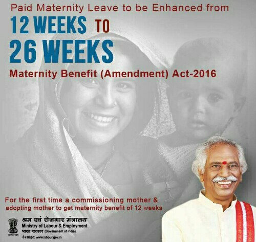 maternity-benefit-amendment-act-2016