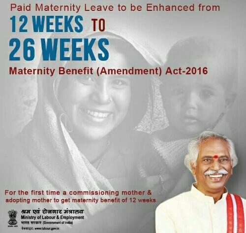 maternity-benefit-amendment-act-2016