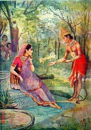 sundar-kand-hanuman-meets-sita-ashoka-vatika-lanka