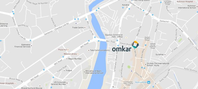 omkar-meridia-bkc-crossing-location-map