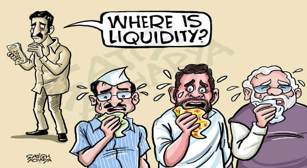 Cartoon Courtesy: Satish Acharya via Twitter