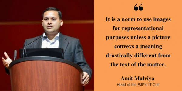 BJP IT Cell Chief Amit Malviya Controversy