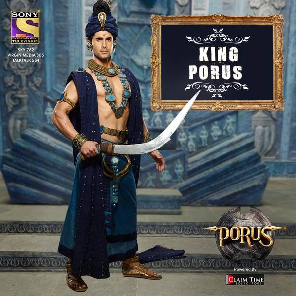 Porus Cast - Know the Real Names & Background of the Characters!