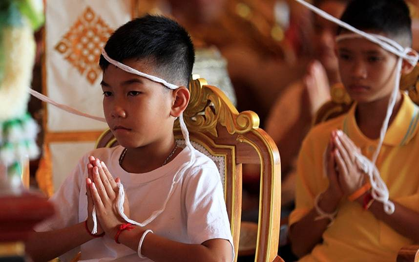 The Rescued Thai Boys Are Considering Becoming Monks - Here