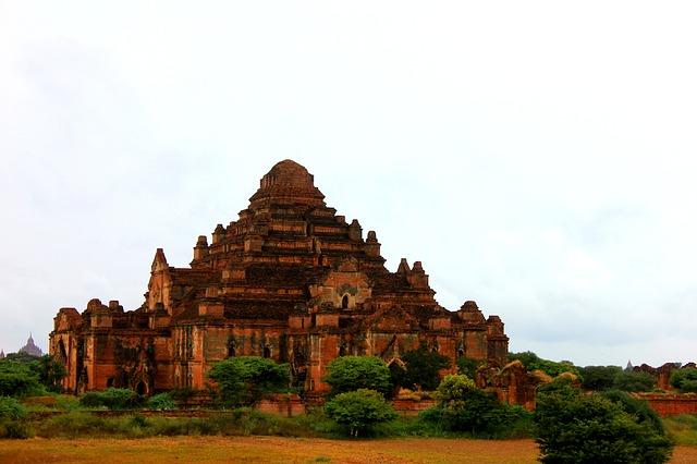 Dhammayangyi Temple in Bagan, Burma