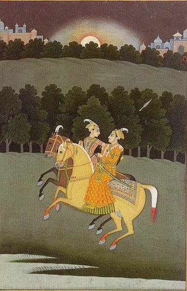 Baz Bahadur and Rani Roopmati