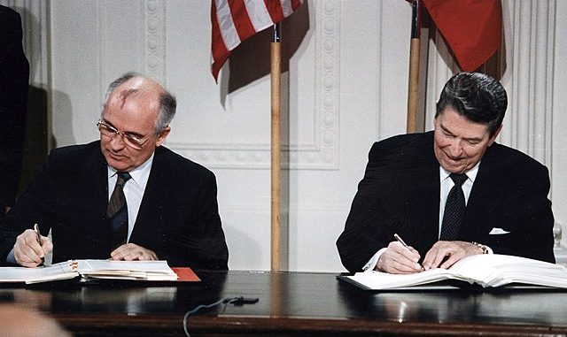 INF Treaty Signing US-Russia