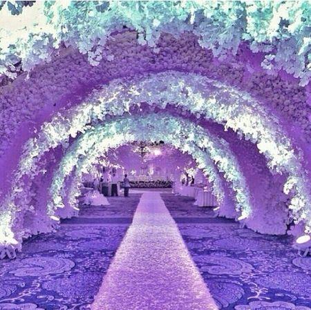 Floral Decoration - Wedding Venue