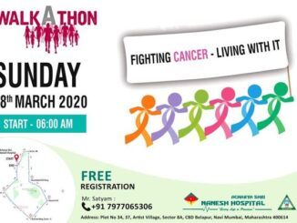 cancer awareness walkathon nanesh-hospital