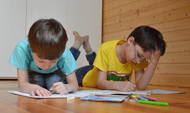 Homeschooled kids