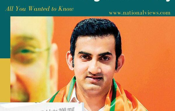 BJP MLA Gautam Gambhir and FabiFlu Stocking Controversy: All You Wanted to Know