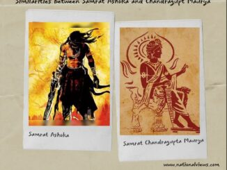 Similarities between Samrat Ashoka and Chandragupta Maurya