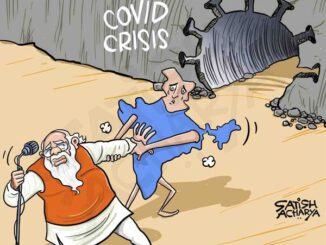 huge covid crisis in india