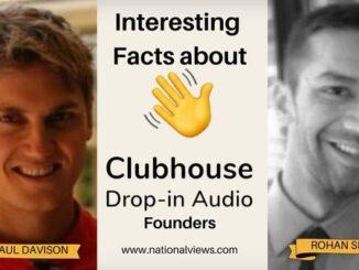 Clubhouse Founders Paul Davison and Rohan Seth