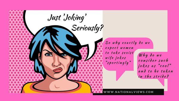 sexist joke on wife